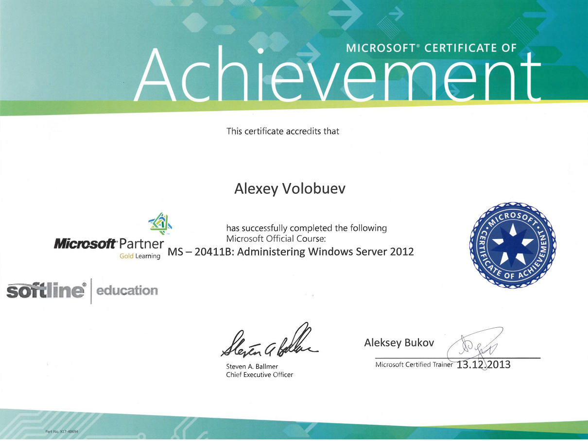 MS-20411B Administering Windows Server 2012v1
